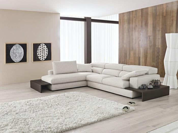 le canape d39angle arrondi comment choisir la meilleure With tapis ethnique avec canapé d angle cuir blanc conforama