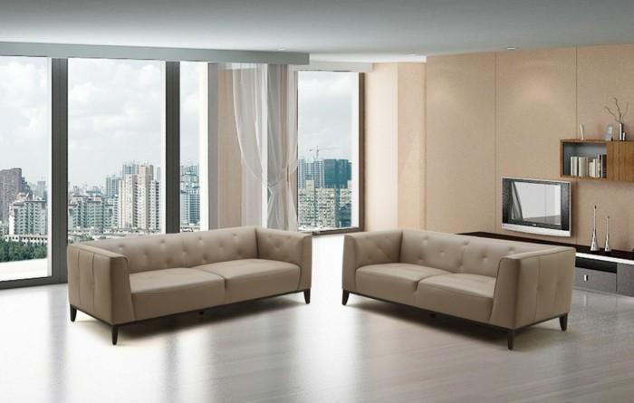 canape-design-italien-cuir-beige-comment-choisir-un-canape-de-salon-chic