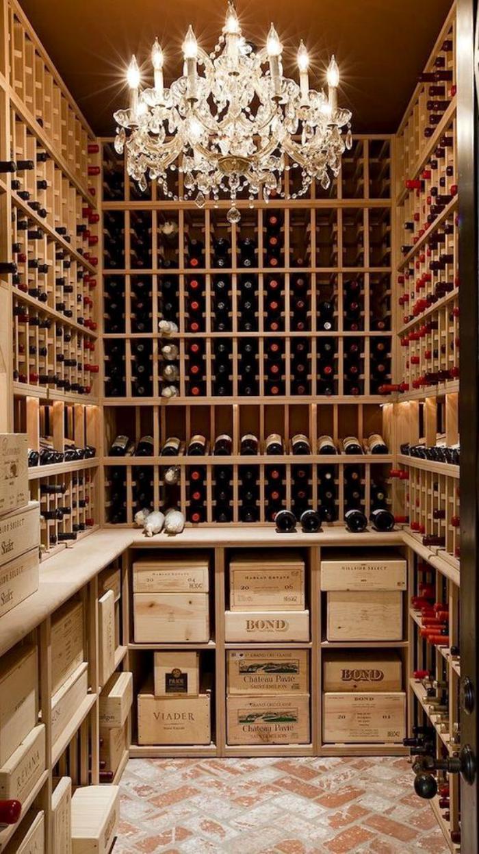 Cr er sa cave vin fantastique pour un petit ou un - Rangement cave ...