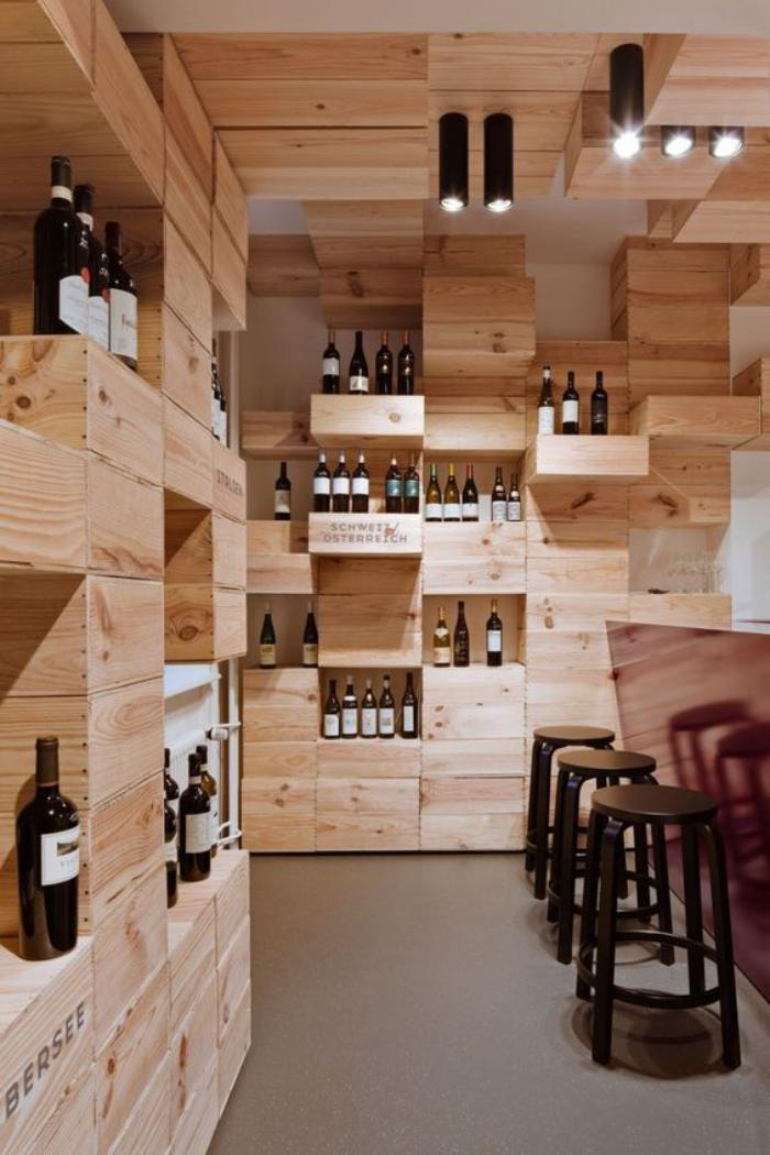 Cr er sa cave vin fantastique pour un petit ou un for Design in a box interior design