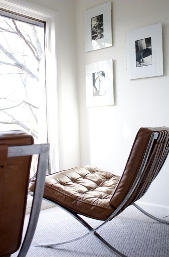 chaise-capitonnée-chaise-barcelone-capitonnée