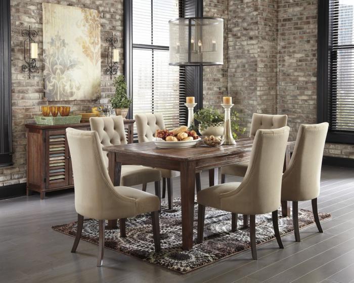 chaise-capitonnée-chaises-capitonnées-pour-la-salle-à-manger