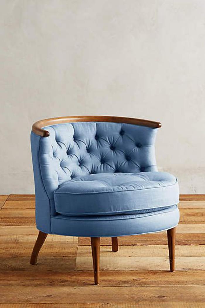 chaise-capitonnée-design-oval-jolies-chaises-capitonnées