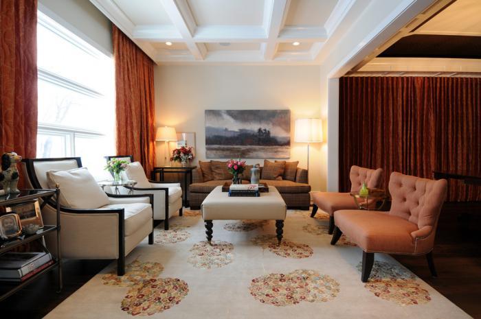 chaise-capitonnée-grande-salle-de-séjour-chaises-capitonnées