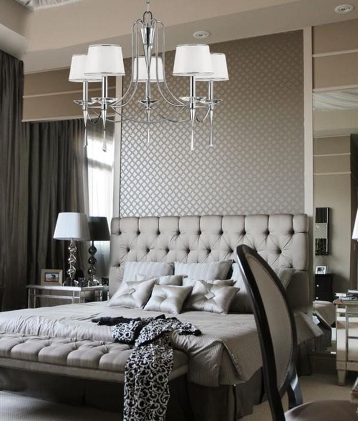 chambre-a-couchet-tete-de-lit-capitonnée-gris-les-meilleures-meubles-dans-la-chambre-a-coucher