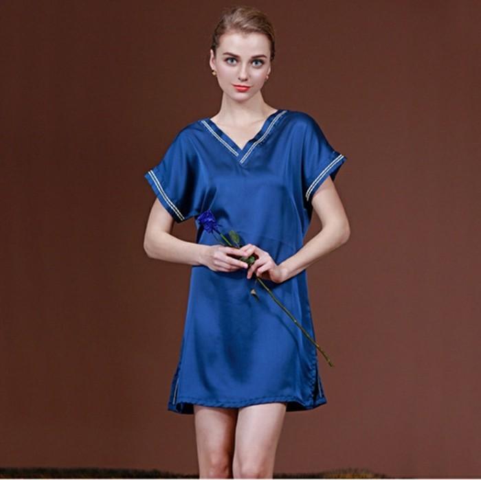 chemises-de-nuit-longues-pyjama-femme-sexy-nuisette-en-soie