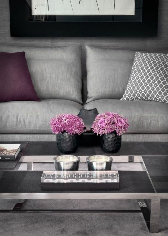 quelle couleur associer avec le gris clair id e inspirante pour la conception de. Black Bedroom Furniture Sets. Home Design Ideas