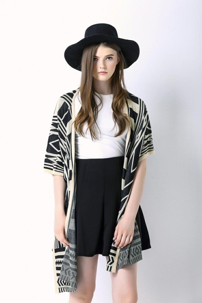 cool-idée-quel-tenue-porter-tenue-veste-kimono-femme-le-chic-boho-vêtement-mode
