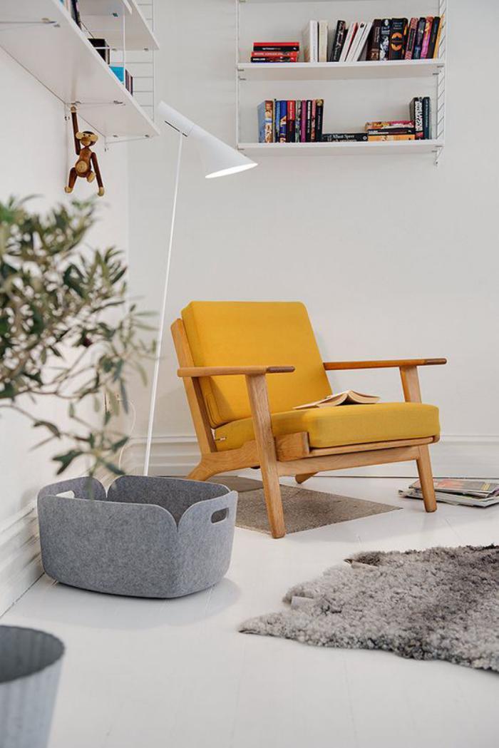couleur-ocre-fauteuil-ocre-design-scandinave
