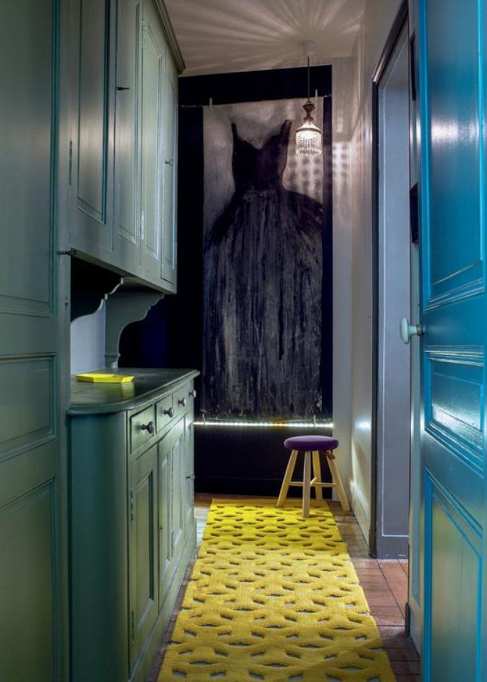 couleur-ocre-tapis-de-couloir-couleur-originale