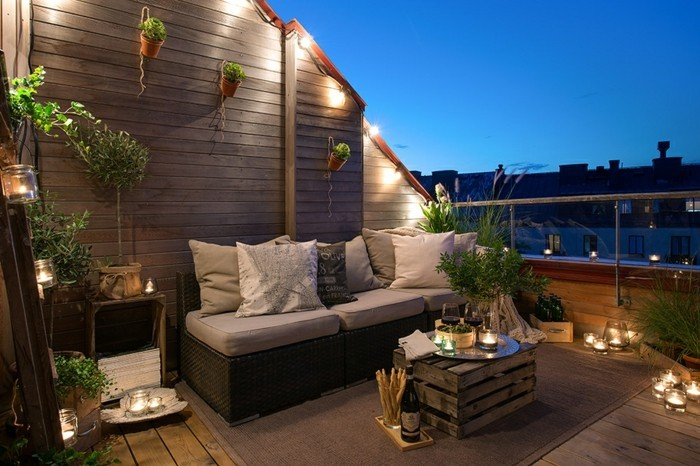 Les meilleures id es comment d corer son balcon Amenager petite terrasse reve decorer