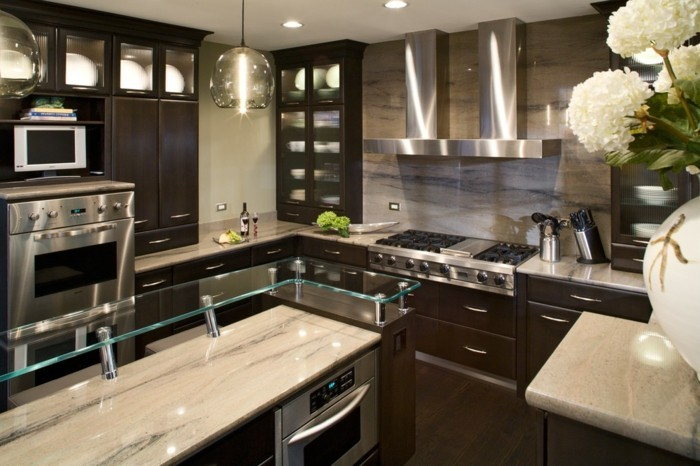 deco-moderne-salle-de-séjour-suspension-luminaire-pas-cher-belle-idée-luminaire-suspension-bois-luminaires