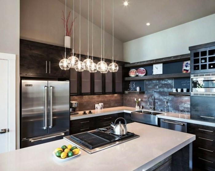 decoration-salle-de-séjour-suspension-luminaire-pas-cher-belle-idée-moderne