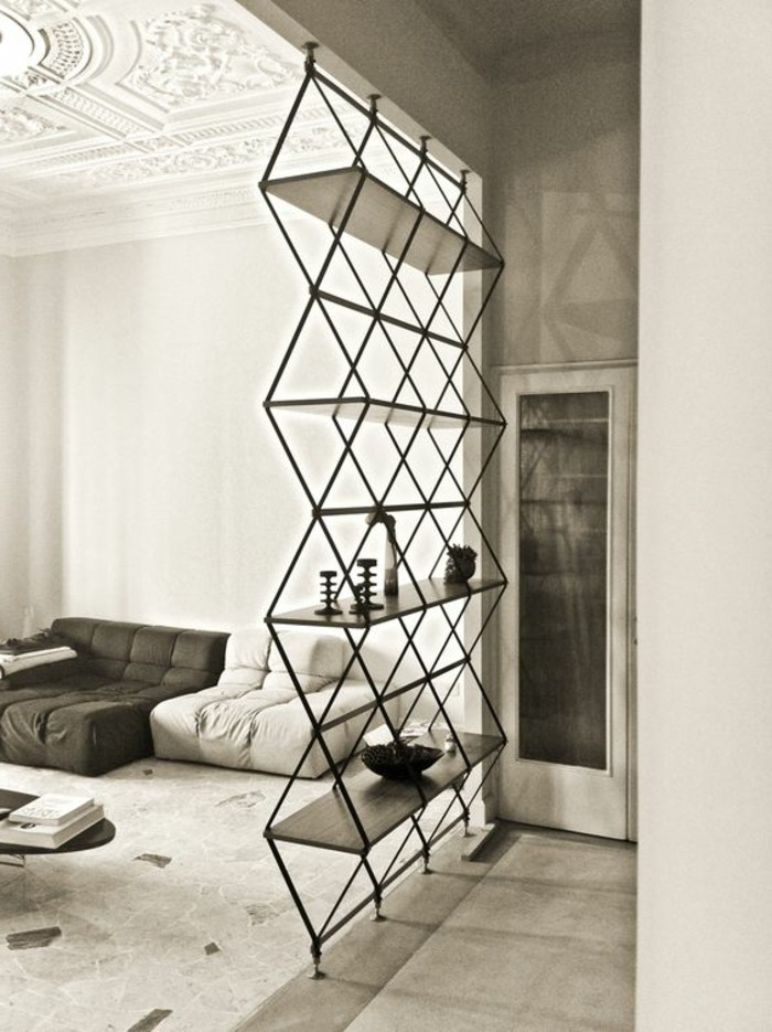 L tag re biblioth que comment choisir le bon design - Etagere suspendue design ...