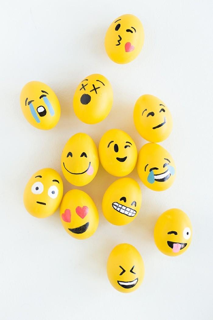 festive-idée-oeufs-jaunes-emoticones-week-end-de-pâques-2016-activité-paques-creation-pour-paques