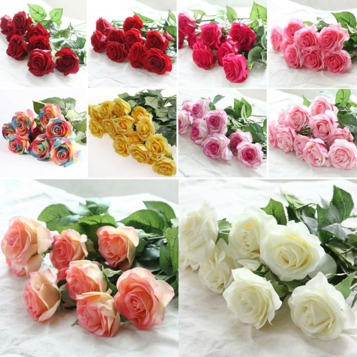 Fleurs artificielles les avantages tourdissants en photos for Fleurs artificielles en pot pas cher