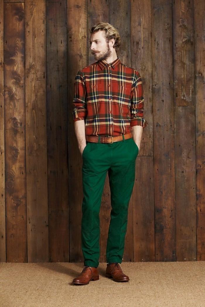 V tement vintage pour le printemps 10 conseils pour for Quelle couleur avec le vert