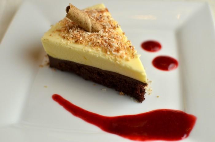 gateau-au-chocolat-blanc- gateau-speculoos-glaçage-chocolat-blanc