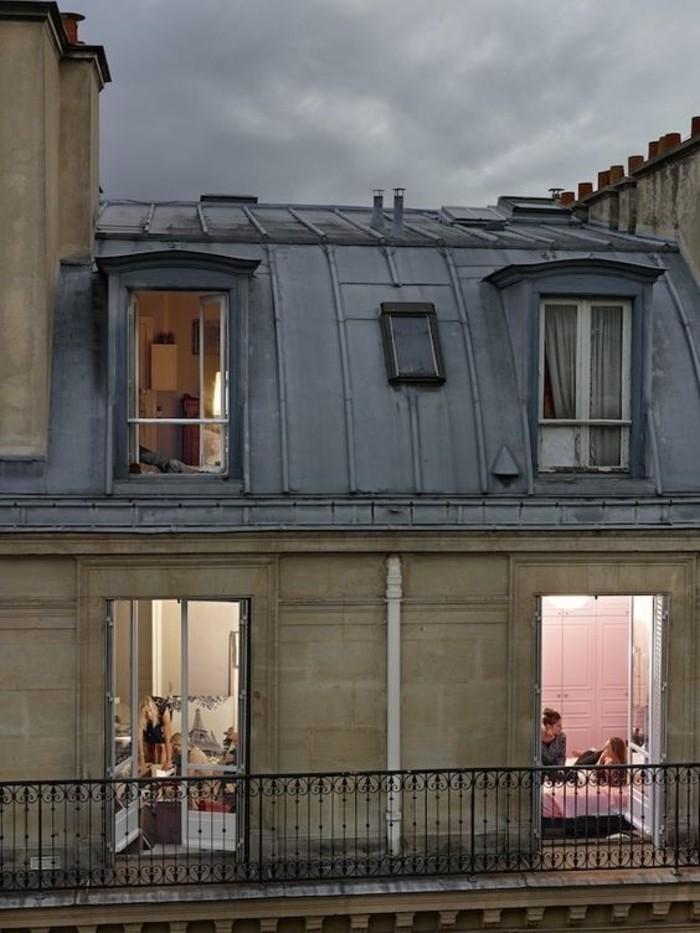 idée-appartement-toit-terrasse-paris-beauté-de-la-ville-de-Paris-beau-inspiration