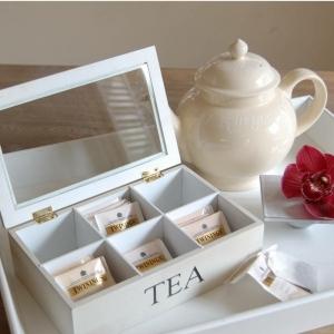 Le coffret de thé - un cadeau très mignon