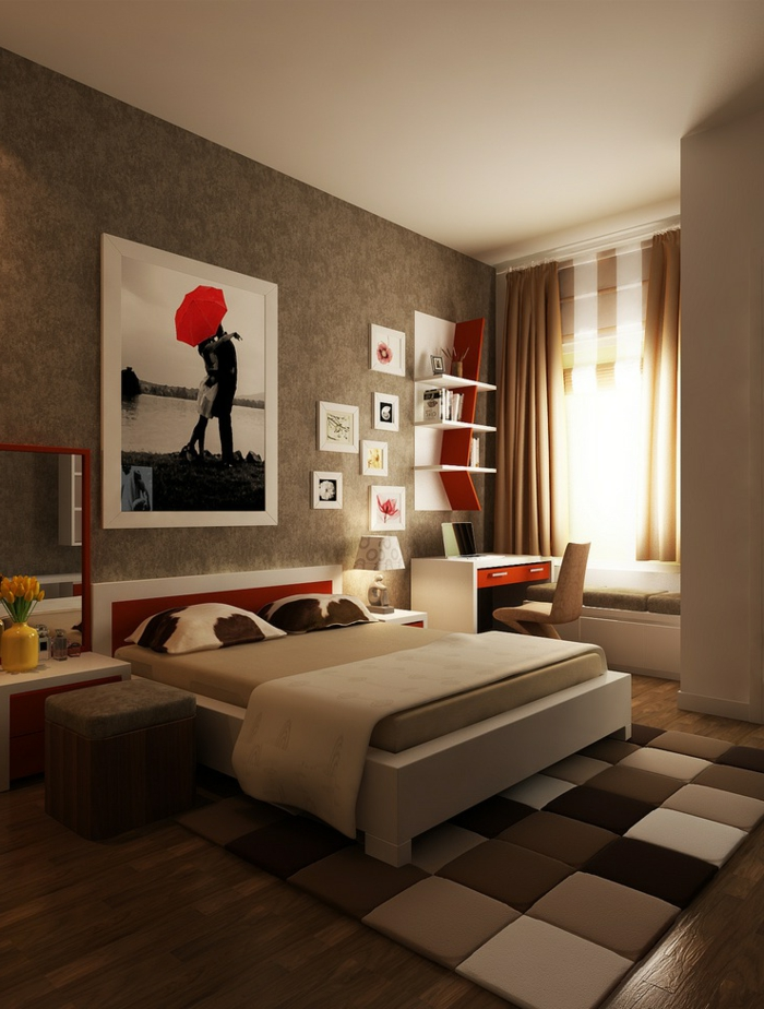couleur peinture chambre adulte comment choisir la bonne. Black Bedroom Furniture Sets. Home Design Ideas