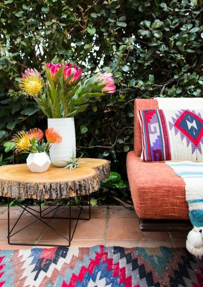 comment fleurir son balcon en 80 photos avec des id es. Black Bedroom Furniture Sets. Home Design Ideas