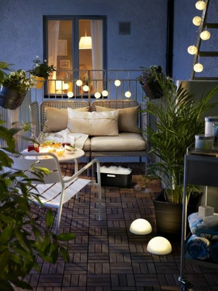Comment fleurir son balcon en 80 photos avec des id es for Idee terrasse design