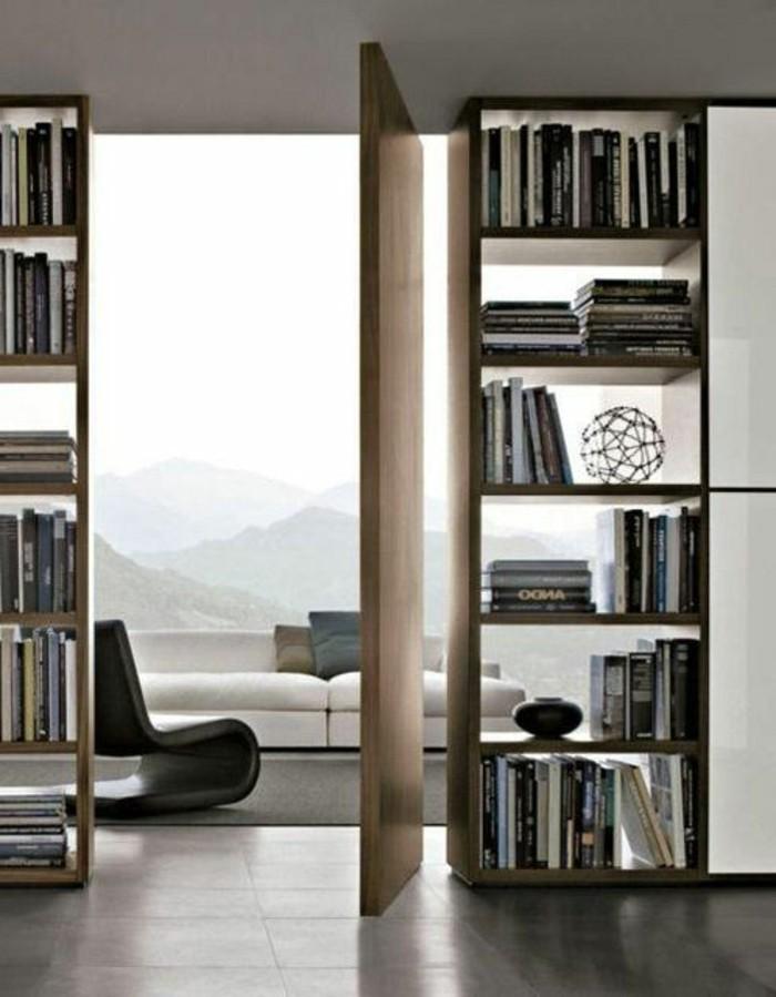 ikea-etagere-en-bois-clair-grande-fenêtre-avec-belle-vue-magnifique-appartement