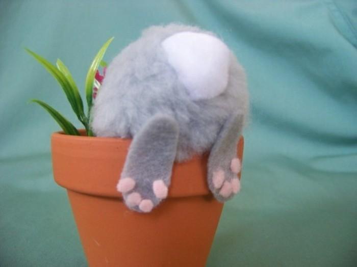 Le bricolage de p ques les meilleures id es r aliser for Decoration lapin de paques
