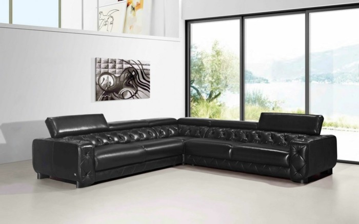 le canapé design italien en 80 photos pour relooker le salon! - Meubles Design Italien Luxe