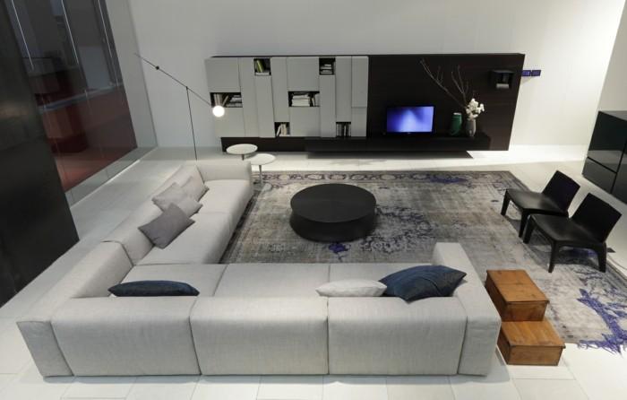Le canap design italien en 80 photos pour relooker le salon - Relooker son canape d angle ...