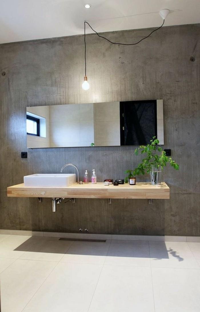 jolie-salle-de-bain-béton-décoratif-carrelages-beiges-dans-la-salle-de-bain