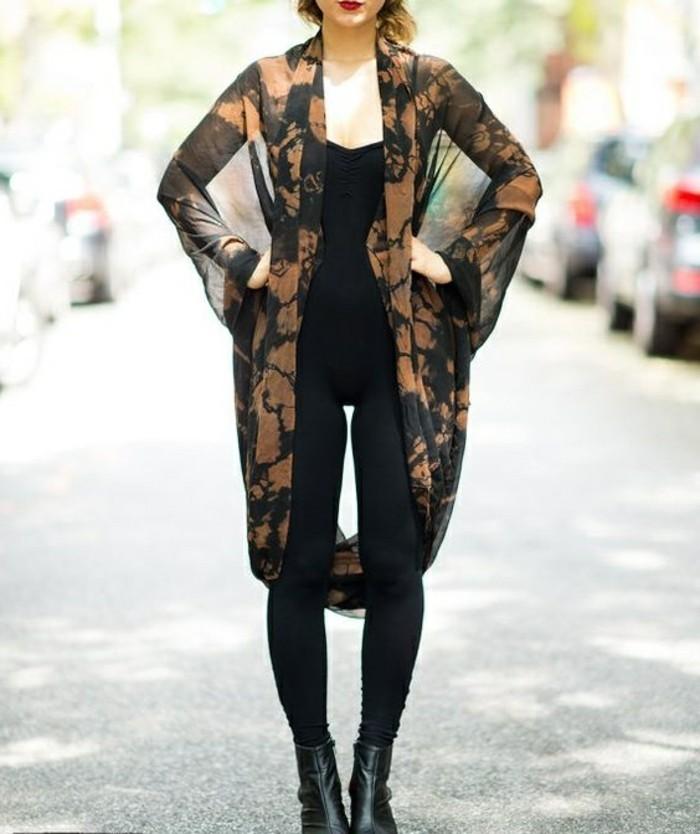 kimono-femme-noir-tenue-robe-kimono-h&m-gilet-kimono-ceinture-de-kimono