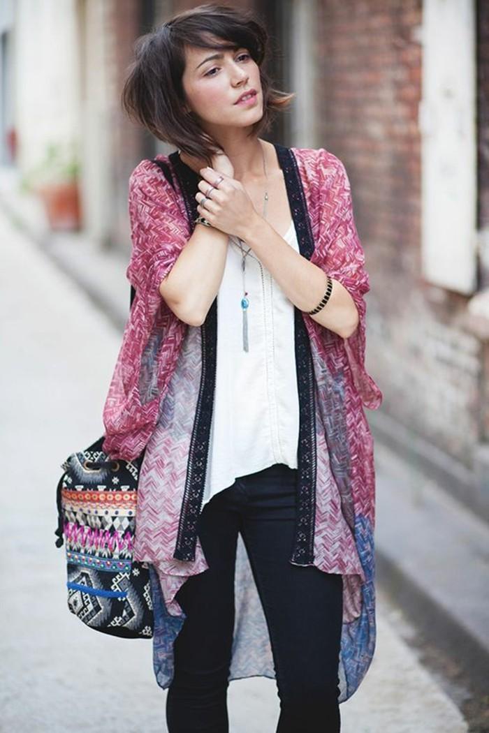 kimono-femme-robe-kimono-h&m-gilet-kimono-ceinture-de-kimono-rouge-et-bleu-ombre