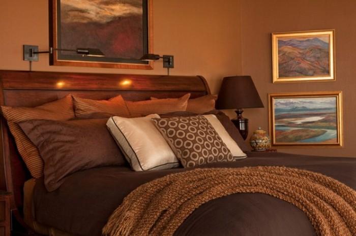 et le brunes sont très mignons pour la couleur chambre à coucher