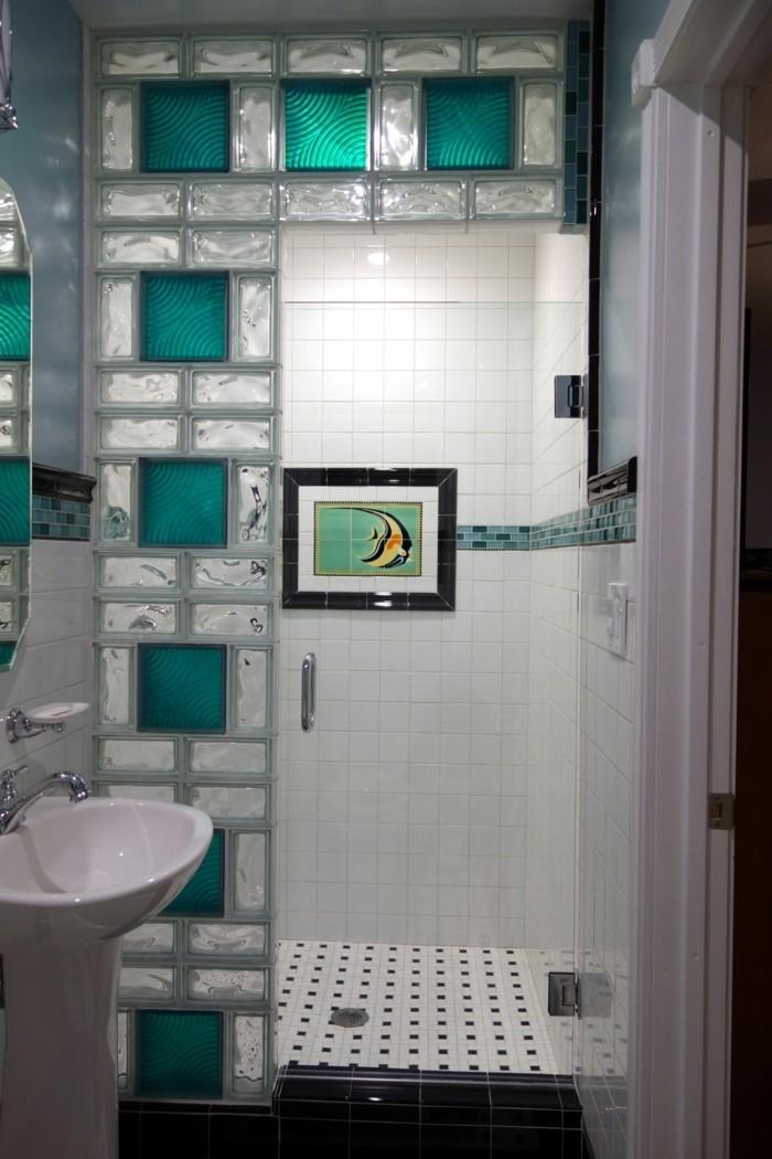 Le pav de verre voir les meilleures id es for Brique de verre salle de bain