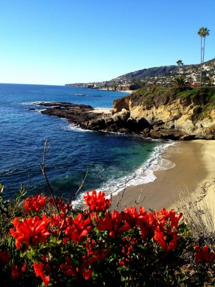 laguna-beach-california-les-meilleures-plages-du-monde-belle-vue-sable-beige