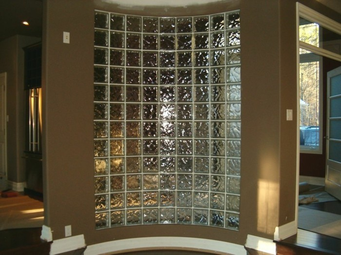 Le pav de verre voir les meilleures id es - Mur en verre salle de bain ...
