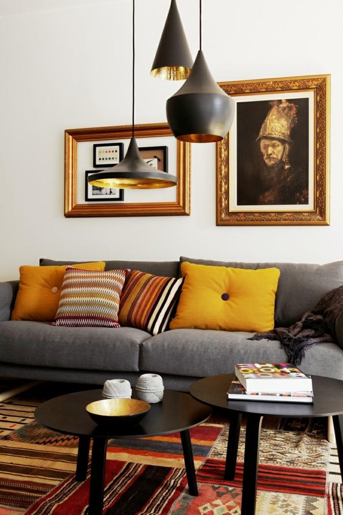 le-plafonnier-design-luminaires-suspension-salle-de-sejour-bien-aménagée-beau-art-cool