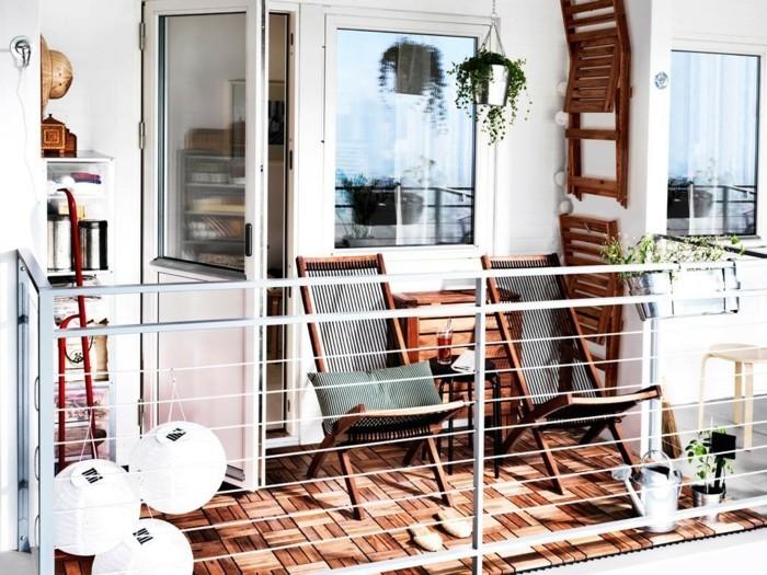 Les meilleures id es comment d corer son balcon - Rangement balcon terrasse ...