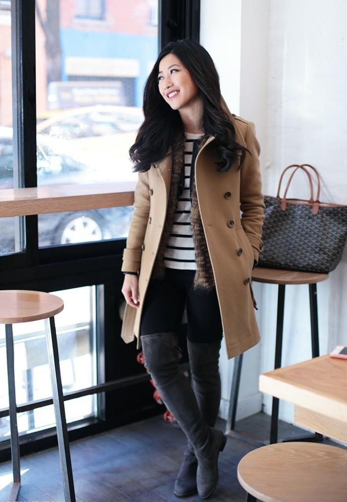 le-trench-coat-femme-coat-impermeable-femme-trench-rose-original-belle-femme