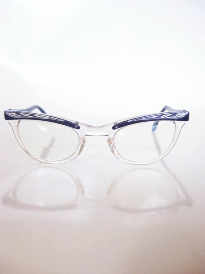 lunette-de-vue-sans-correction-lunettes-de-cue-cat-eye-mordure-transparente