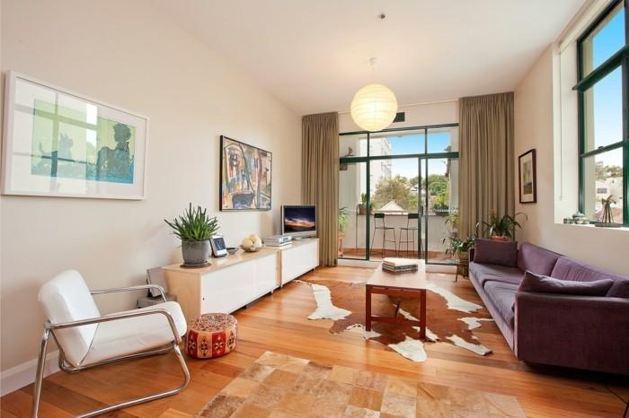 magnifique-idées-aménagement-terrasse-tapis-exterieur-le-balcon-bien-décorer-chaise-haute-balcon-etroite