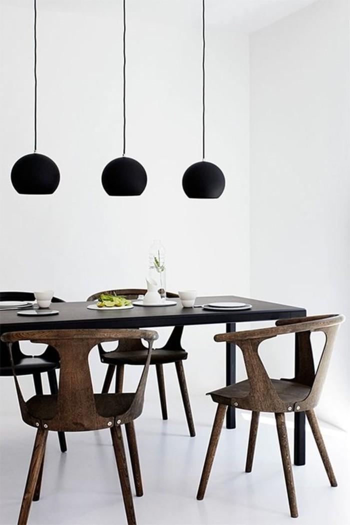 meubles-en-bois-foncé-lustres-noirs-pour-la-salle-de-séjour-chic-meubles-en-bois-foncé