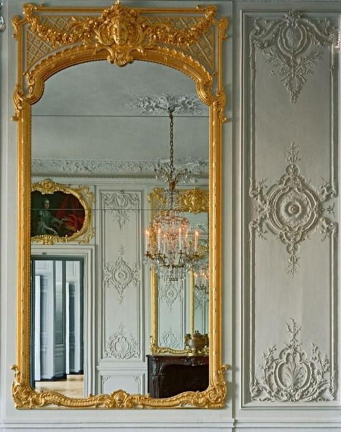 miroir-doré-grand-miroir-ornementé-baroque-style-déco-vintage