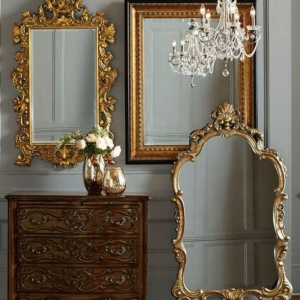Le miroir doré en 40 photos