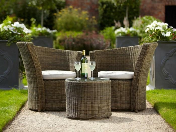 D coration jardin luxe for Objet deco terrasse