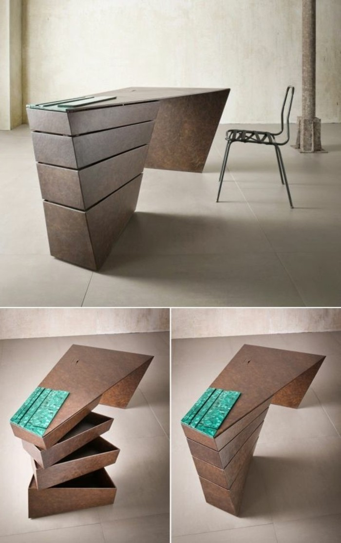 Le bureau pliable est fait pour faciliter votre vie - Maison pliable ...