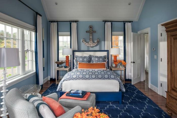 Les meilleures id es pour la couleur chambre coucher - Chambre a coucher noir et gris ...
