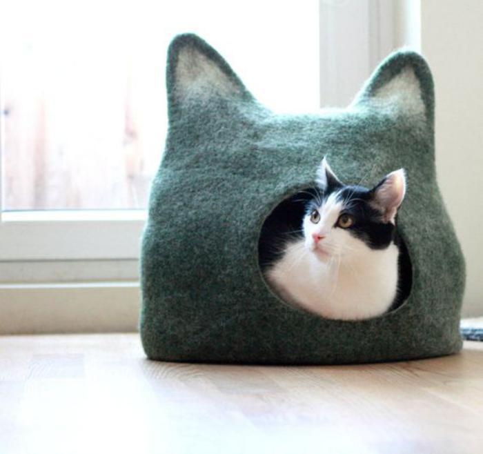 niche-pour-chat-cocon-niche-pour-chat-ravissant